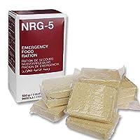 Rations 應急食品棒 NRG-5 500 克 戶外 Prepper 17.6 盎司 20 年保質期包 NATO 認證 MRE 適合素食者