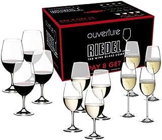 Riedel Ouverture酒杯,每组12个,红酒,白酒和香槟