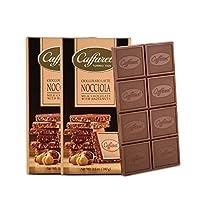 Caffarel 口福莱 排装榛子牛奶巧克力制品100g*2(意大利进口)(亚马逊自营商品, 由供应商配送)
