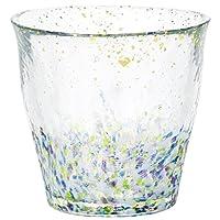 Tsugaru 津輕 Vidro 防滑 巖石杯 金箔玻璃 300毫升 雫