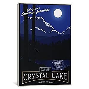 iCanvasART 15536-1PC3-40x26 Camp Crystal Lake Canvas Print by Steve Thomas, 0.75 by 26 by 40-Inch