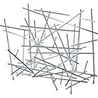 Alessi Blow up FC15 设计的垂直杂志架,镀铬钢,镜面抛光