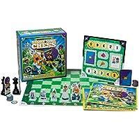 故事時間象棋 - 初學者故事和角色教育象棋游戲 - 3 歲開始-雙面棋子,30 個迷你游戲