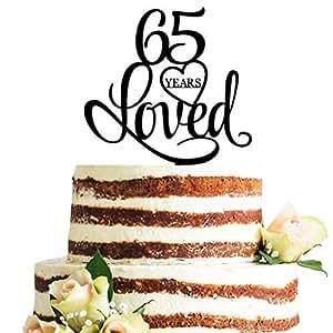 丙烯酸生日蛋糕装饰 黑色 65 unknown
