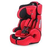 感恩 儿童安全座椅 汽车宝宝儿童安全坐椅 isofix硬接口 9月-12岁 极速红(供应商直送)