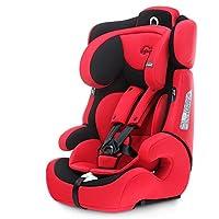 感恩 儿童安全座椅 汽车宝宝儿童安全坐椅 isofix硬接口 9月-12岁 极速红(亚马逊自营商品, 由供应商配送)