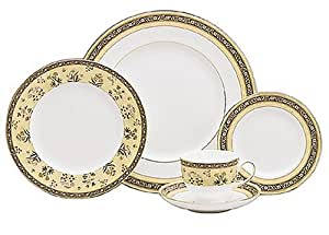 WEDGWOOD FINE BONE CHINA INDIE: 5-PIECE PLACE SETTING
