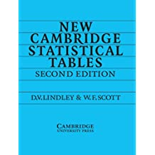 New Cambridge Statistical Tables (English Edition)