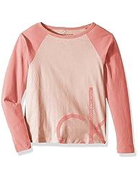 Calvin Klein 女童超大标志 T 恤