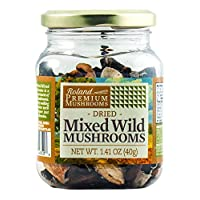 Roland Dried Mushrooms, Mixed Wild, 1.41 Ounce