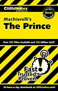 """CliffsNotes on Machiavelli's The Prince (English Edition)"",作者:[Magedanz, Stacy]"
