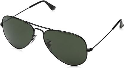 Ray-Ban 雷朋 太阳镜男女款飞行员系列太阳眼镜经典蛤蟆镜 RB3025