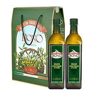 BONO 包锘 特级初榨橄榄油1L*2礼盒装(意大利进口)