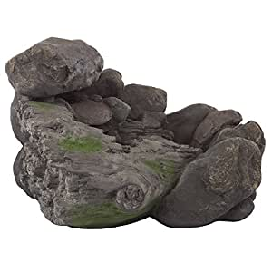 Pure Garden Cascade Rock Fountain 22.9x13.9 50-0004