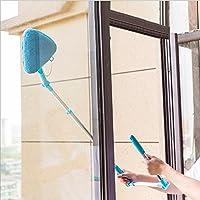 莱朗 多用途擦天花板玻璃工具清洁器 高层家用擦窗器 可旋转伸缩杆玻璃擦玻璃器(带刮水器)