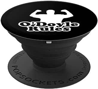 O'Doyle Rules - PopSockets 手机和平板电脑抓握支架260027  黑色