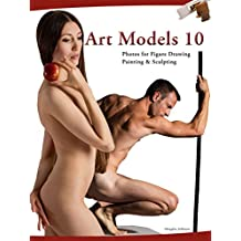 Art Models 10: Photos for Figure Drawing, Painting, and Sculpting (Art Models series) (English Edition)