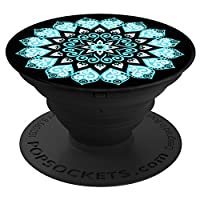 PopSockets Stand for Smartphones and Tablets - Retail Packaging - Pakwan Sunset Ocean Peace Mandala Sky