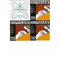小提琴4/4弦套裝(E:Goldbrokat A.D.G Dominant)ADGE0.27L1  一根環 0.27