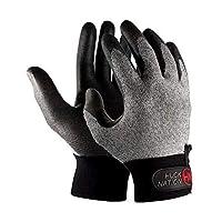 "Huck Nation""Dominator Ultimate Frisbee""手套 - 无缝设计,适用于手掌和切割机"