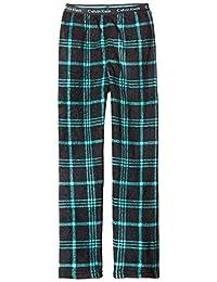 Calvin Klein Little Boys' Plush Plaid Sleep Pant