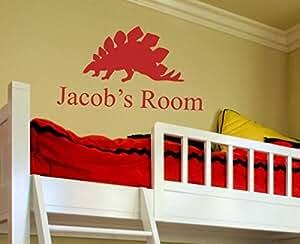 "Alphabet Garden Jacob's Room 个性化 EVA 墙贴 Blue Sky 46"" H child058-BS-46-Eva"