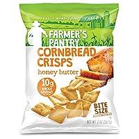 Farmer's Pantry 大包裝 蜂蜜黃油玉米面包薯片,蜂蜜黃油,2盎司(56.7g)(24件)