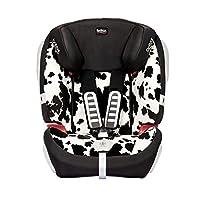 Britax 宝得适 汽车儿童安全座椅全能百变王 小奶牛(适用于9个月-12岁 CCC/ECE认证 侧面防撞系统 五点式安全带 PAD防护 角度可调节 头枕&腰部调节)