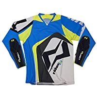 Mots mt2107la try Rider 2 T 恤,藍色,L 碼