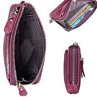 女式钱包软皮革拉链手包手钱包迷你手拿包记事本女式