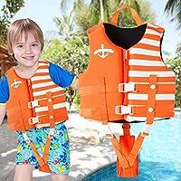 OldPAPA 儿童游泳背心 - 儿童救生衣婴儿漂浮泳衣 带 3 个*扣,S-XL 码