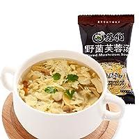SUBO 苏伯汤 10g野菌芙蓉汤一人份冻干即食 速食蘑菇汤饱腹代餐夜宵