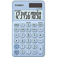 Casio 计算器, 10位数字 淡蓝色