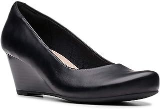 Clarks 女士 Flores Petra 坡跟鞋