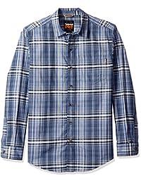 Timberland PRO 男式 R-Value 法兰绒工作衫