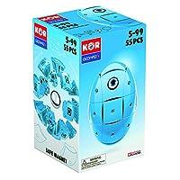GEOMAG 智美高 儿童益智拼插搭建积木磁力玩具 Kor2.0 磁力蛋-明亮彩色基础系列(亮蓝色)