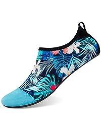 l-run 男式水鞋赤脚 skin 浅绿色 SHOES for 潜水冲浪游泳沙滩 yoga