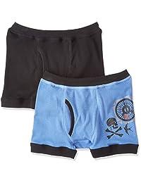 (郡是) GUNZE 四角内裤 迪士尼 海洋游乐途观 前开口 2条装 男童