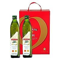 MUELOLIVA品利特级初榨橄榄油(礼盒装)750ml*2(gift box)(西班牙进口)
