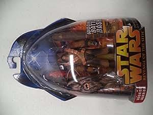 Star Wars Episode III 3 Revenge of the Sith WOOKIEE WARRIOR Battle Bash Figure #43