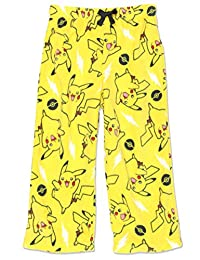 Pokemon 皮卡丘男孩毛绒羊毛休闲睡裤