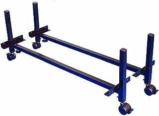 Morris & Alexander 支架用于增加床(高度可调,高度7.5-28 厘米,带转向轮)