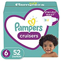 Diapers - Pampers Cruisers 一次性婴儿尿布,*包装 Cruisers 6 52