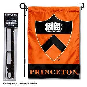 大学旗帜和横幅公司普林斯顿老虎花园旗帜带支架