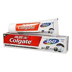 Colgate 高露洁 360°口腔健康 备长炭深洁 牙膏 120g