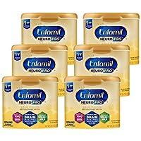 Mead Johnson 美赞臣 Enfamil NeuroPro 婴儿奶粉,0-12个月,Omega 3,20.7盎司/约586.84克(6件)
