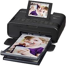 Canon 佳能 SELPHY CP1300 照片打印机 便携小型 无线连接 防水防指纹 液晶屏升级 黑色(日本品牌)