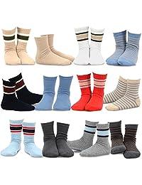 TeeHee (Naartjie) 男童棉质基本款船袜 12 双装