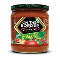On The Border Original Mild Salsa, 16-Ounce Jar (Pack of 8)