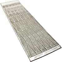 Therm-A-Rest TAR RidgeRest Solar Regular - Sliver/Blue 镀铝泡沫垫 02148 银色 均码 音乐节必备 郊游神器